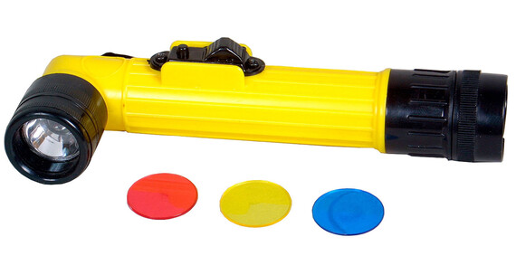Coghlans Linterna para niños - Linterna Niños - amarillo/gris